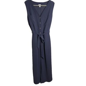 A New Day navy blue sleeveless jumpsuit XL